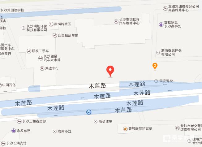 秦学教育湖南红星上海城校区地址