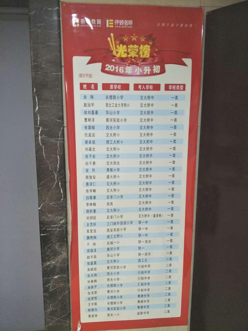 秦学教育伊顿名师西安黄河中学校区环境图片|地址|电话