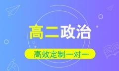 秦学教育高二政治1对1同步辅导