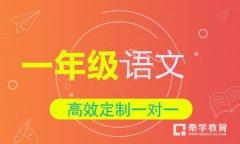 秦学教育小学一年级语文一对一辅导冲刺课程