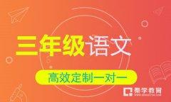 秦学教育-小学三年级语文一对一辅导冲刺课程