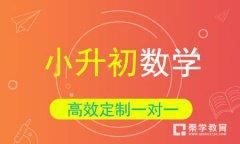 秦学教育-2017小升初数学压轴冲刺班