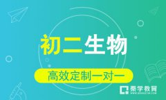 秦学教育-初二生物3-6人小班辅导课程
