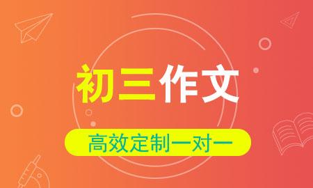 秦学教育|初三作文一对一辅导冲刺班