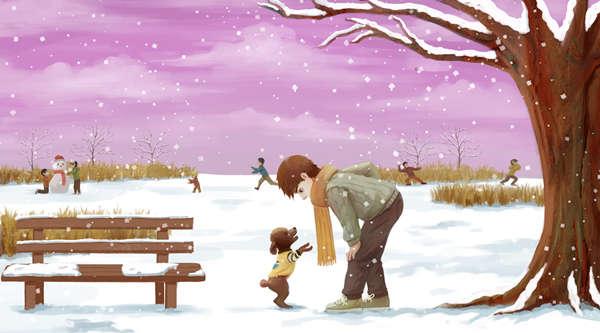 小學生關于描寫雪景的作文范文!總共7篇!