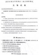 武汉市2018-2019学年度部分学校新高三起点调研测试生物试卷及答案