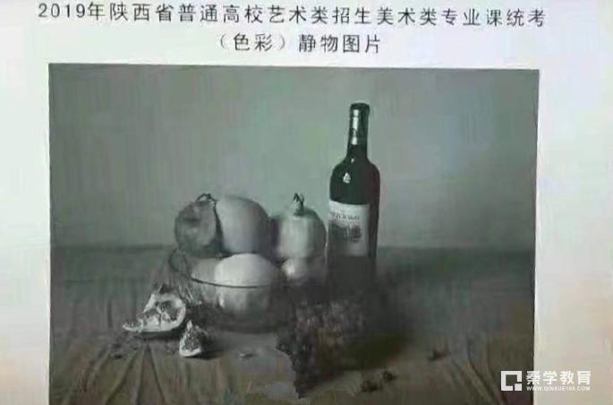 2019年陕西美术类统考考题