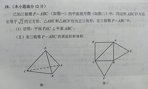 2019年长沙市高三统一模考文科数学试题及参考答案整理!