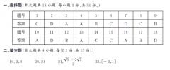 2019年1月浙江学考数学科目参考答案出炉,学生参考!