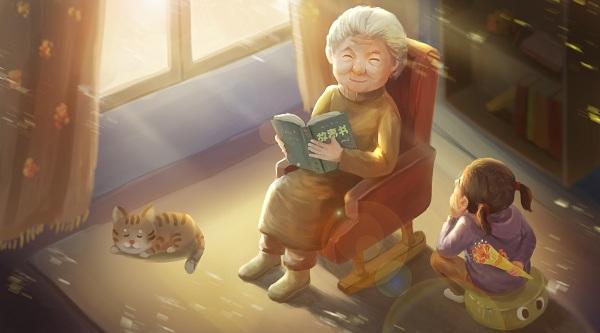 老人帶孩子怎么溝通