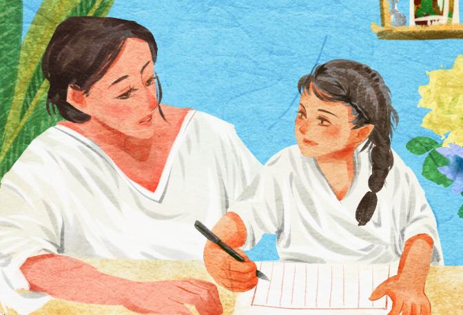 老舍《我的母親》刻畫了一個怎樣的母親形象?表達了作者怎樣的情感?