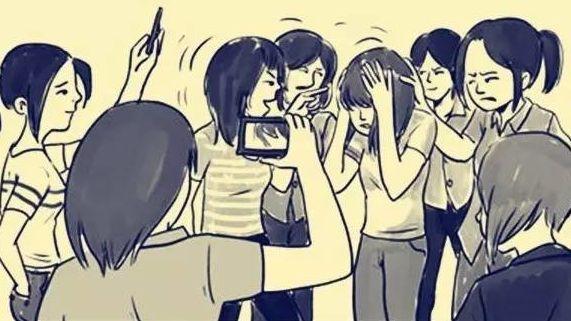 河北两名女生遭四名未成年女生欺凌36耳光事件让人发指,对此你怎么看呢?