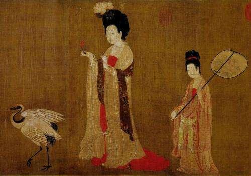 古人穿的衣服为什么都要拖到地上,长袍是一种身份象征吗?