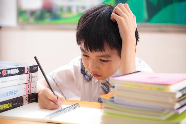 孩子从不自觉写作业,催他还哭鼻子,该怎么办呢?