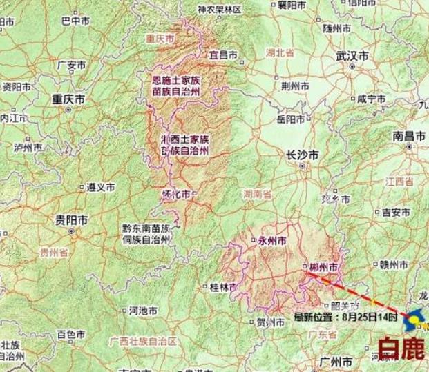 """台风可能会引发哪些灾害?""""白鹿""""的侵袭对于湖南省会有什么影响?"""