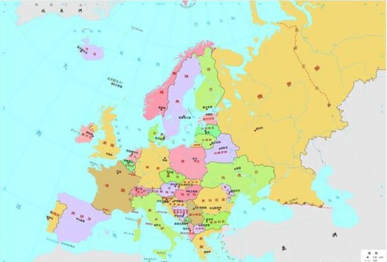 欧洲各国之间没有天然屏障,为何仍然没有形成统一的整体?试从地形、政治分析
