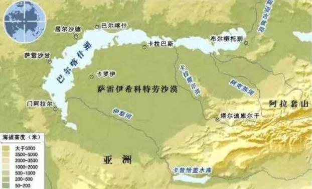 """为什么巴尔喀什湖一半咸水一半淡水?""""一湖两水""""的原因是什么?"""