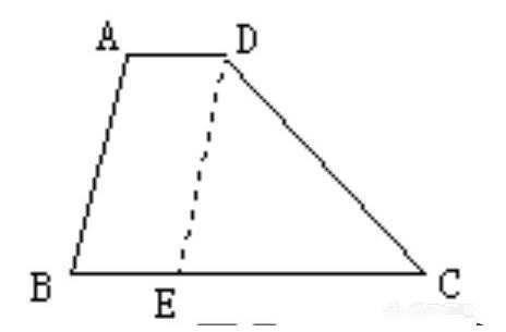 一个梯形,只知道四边的边长,怎么求梯形的面积是多少?