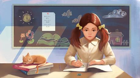 四年级的学生如何提高自己的写作水平?抄别人的范文可以吗?
