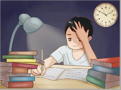 初三生學習很努力,每天學到十二點,為什么還考不好?