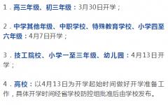江苏省九个城市确定分批次开学时间,你的城市哪天开学?